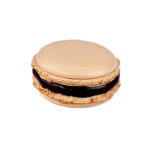 Tasty Looking Macaroon Trinket Box Peach
