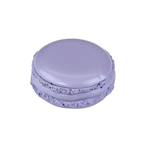 Tasty Looking Macaroon Trinket Box Purple