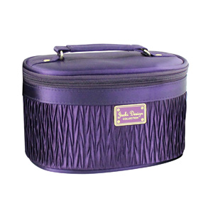 Vintage Allure Beauty Train Case Purple