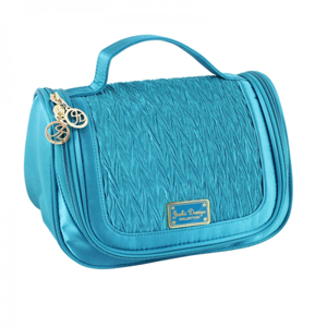 Vintage Allure Hanging Travel Bag Turquoise