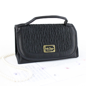 Vintage Allure Roll Up Bag Organizer Black
