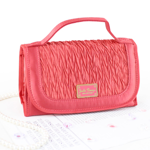 Vintage Allure Roll Up Bag Organizer Coral