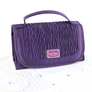Vintage Allure Roll Up Bag Organizer Purple