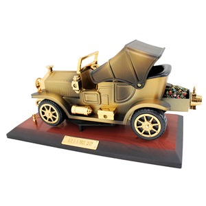 Vintage Car Music Box & Jewelry Box