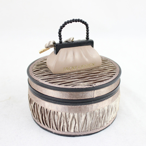 Vintage Jewelry Box Beige