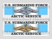 Arctic Service Decal
