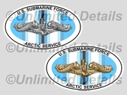 Arctic Service Euro Decal