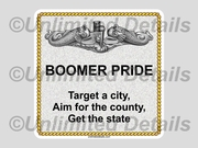 Boomer Pride....Decal