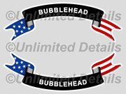 Bubblehead Decal