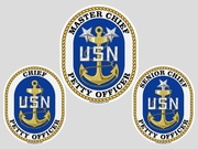 Chief Petty Officer Decals
