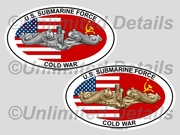 Cold War Euro Decal
