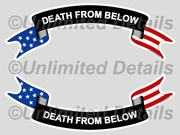 Death From Below Decal