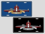 Deterrence Insignia<br>License Plate