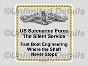 Fast Boat Engineering Decal