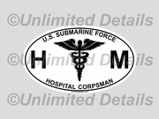 HM Rating Decal