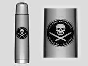 Jolly Roger Thermos