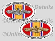 National Defense Euro Decal