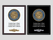 US Navy Seal Plaque
