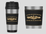 Personalized Dolphin Travel Mug