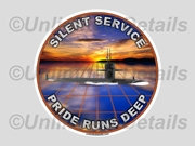 Pride Runs Deep Decal