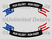 Run Silent - Run Deep Decal