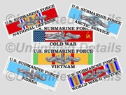 Service Ribbon Decals
