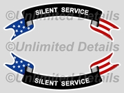 Silent Service Decal