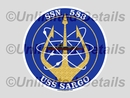 SSN-583 Decal