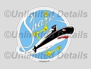 SSN-591 Decal