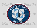 SSN-646 Decal