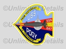 SSN-647 Decal