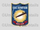 SSN-649 Decal