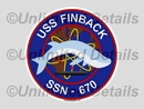 SSN-670 Decal