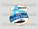 SSN-673 Decal