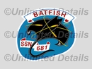 SSN-681 Decal