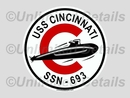 SSN-693 Decal