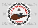 SSN-695 Decal
