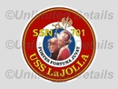 SSN-701 Decal
