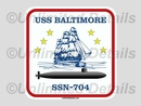 SSN-704 Decal