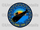 SSN-708 Decal