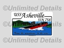 SSN-758 Decal