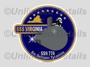 SSN-774 Decal