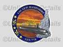 SSN-778 Decal