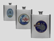 SSN Insignia Flasks