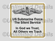 Submarine Humor Decals
