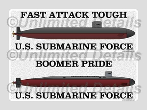 Submarine Profile Decals