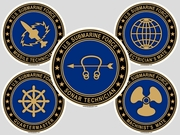 Submarine Rating Decals