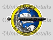 Submarine School Decal