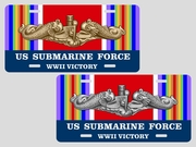 WWII Victory<br>License Plate