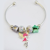 Pink Fairy Silverplated Bracelet